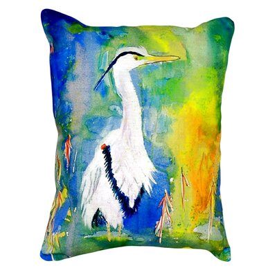 DandBs Heron Indoor/Outdoor Lumbar Pillow