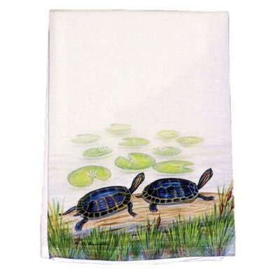 Two Turtles Hand Towel