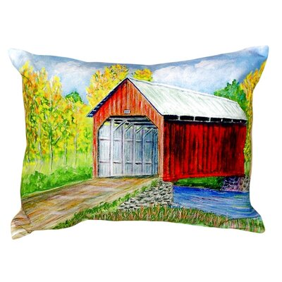 Dicks Covered Bridge Indoor/Outdoor Lumbar Pillow