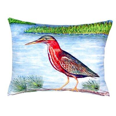 Heron II Indoor/Outdoor Lumbar Pillow
