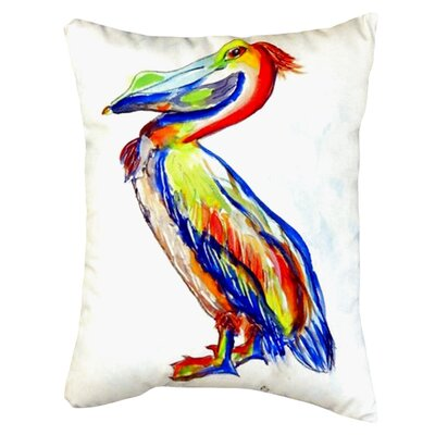 Sylvester Pelican Indoor/Outdoor Lumbar Pillow