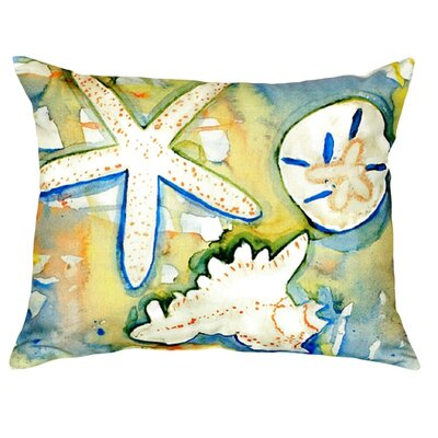 Beach Treasures Indoor/Outdoor Lumbar Pillow