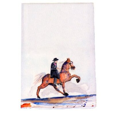 Walking Horse Hand Towel