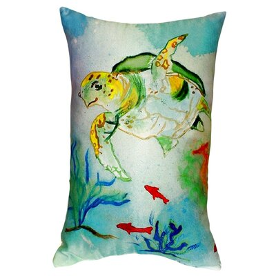 Sea Turtle Indoor/Outdoor Lumbar Pillow