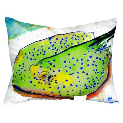 Stingray Indoor/Outdoor Lumbar Pillow