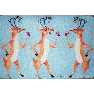 Deer Party Garden Flag Size: Small FL906