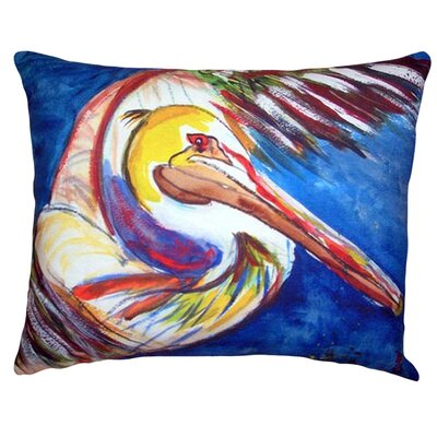 Pelican Wing Indoor/Outdoor Lumbar Pillow