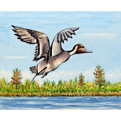 Pintail Duck Doormat Rug Size: Rectangle 26 x 42