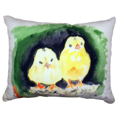 Chicks Indoor/Outdoor Lumbar Pillow