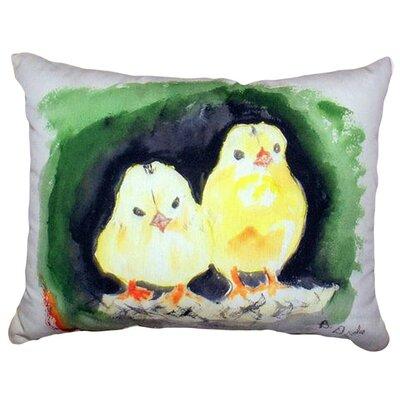 Chicks Indoor/Outdoor Lumbar Pillow