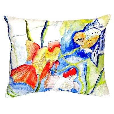 Fantails Indoor/Outdoor Lumbar Pillow