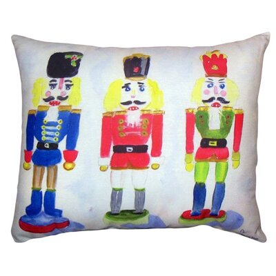Nut Crackers Indoor/Outdoor Lumbar Pillow