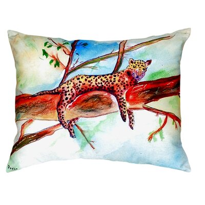 Leopard Indoor/Outdoor Lumbar Pillow