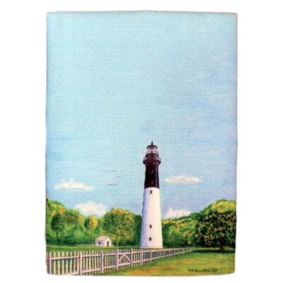 Hunting Island Lighthouse Hand Towel