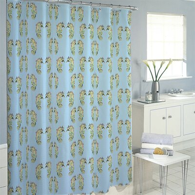 Sea Horse Shower Curtain