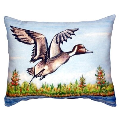 Pintail Duck Indoor/Outdoor Lumbar Pillow