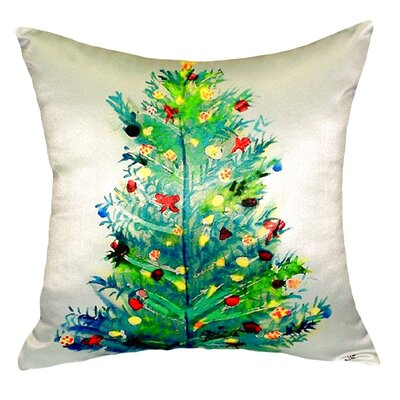 Christmas Tree Indoor/Outdoor Lumbar Pillow