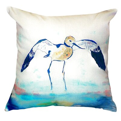 Avocet Indoor/Outdoor Throw Pillow