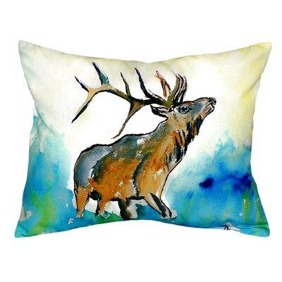 Elk Indoor/Outdoor Lumbar Pillow