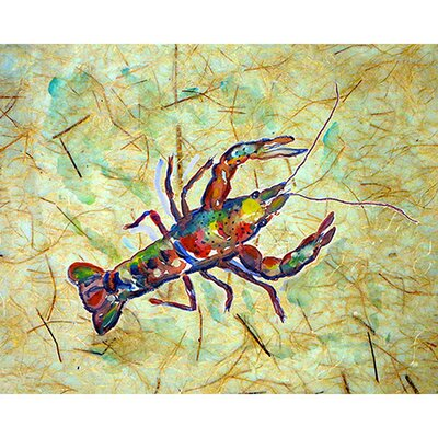 Crayfish Doormat Rug Size: 16 x 22