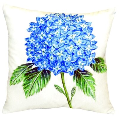 Dicks Hydrangea Indoor/Outdoor Throw Pillow