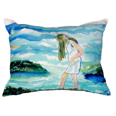 Mia on the Rocks Indoor/Outdoor Lumbar Pillow