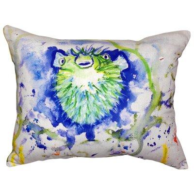 Spiney Puffer Indoor/Outdoor Lumbar Pillow