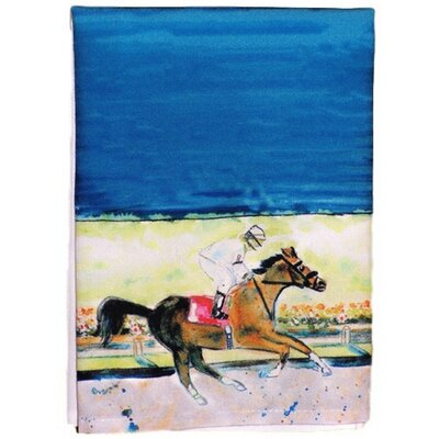 Racing Horse Hand Towel