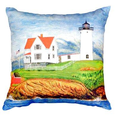 Nubble Lighthouse Indoor/Outdoor Lumbar Pillow