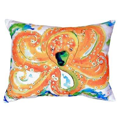 Octopus Indoor/Outdoor Lumbar Pillow