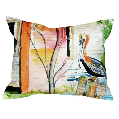 Pelican Indoor/Outdoor Lumbar Pillow