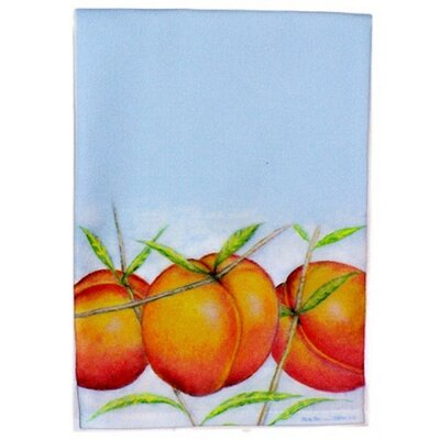 Peaches Hand Towel