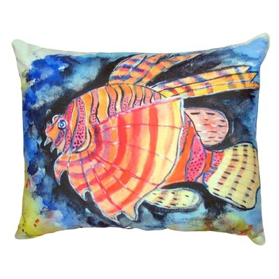 Lion Fish Indoor/Outdoor Lumbar Pillow