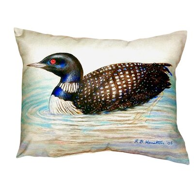 Loon Indoor/Outdoor Lumbar Pillow
