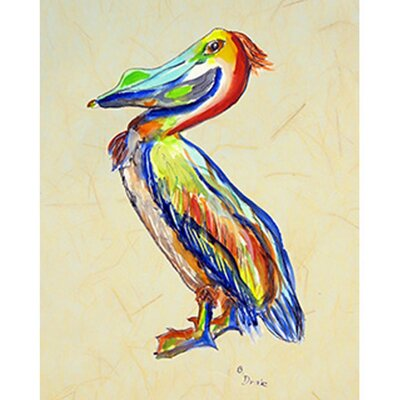 Sylvester Pelican Painting Print TP985B