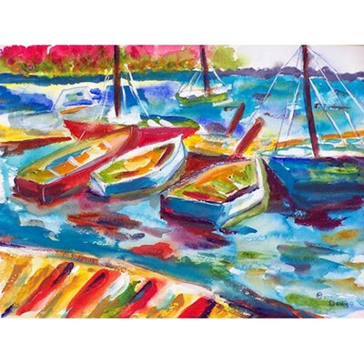 Marina II Doormat Mat Size: Rectangle 26 x 42