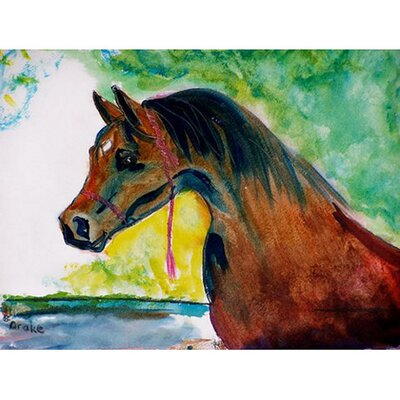 Prize Horse Doormat Mat Size: Rectangle 16 x 22