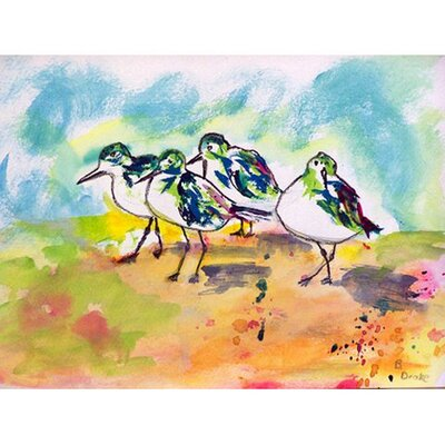 Sanderlings Doormat Rug Size: 16 x 22