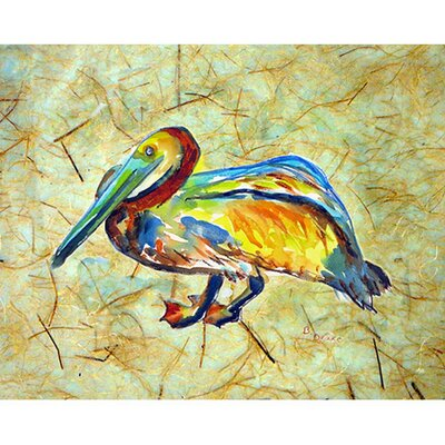 Gertrude Pelican Doormat Mat Size: Rectangle 16 x 22