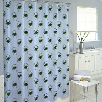 Female Crab Shower Curtain
