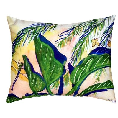Elephant Ears Indoor/Outdoor Lumbar Pillow