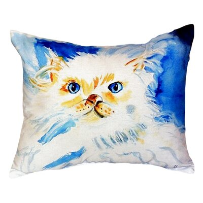 Junior the Cat Indoor/Outdoor Lumbar Pillow