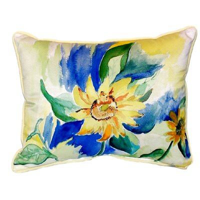 Sunflower Indoor/Outdoor Lumbar Pillow Size: Small