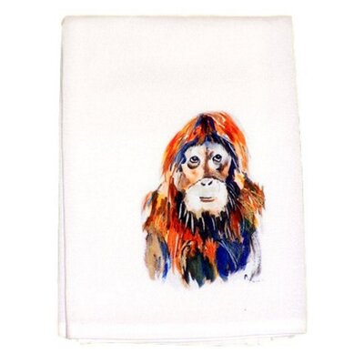 Santas Face Hand Towel