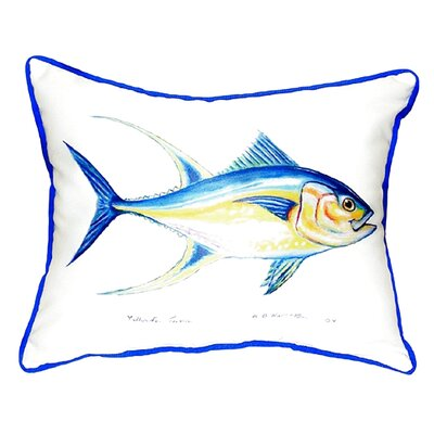 Tuna Indoor/Outdoor Lumbar Pillow Size: Small