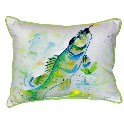Perch Indoor/Outdoor Lumbar Pillow Size: Large