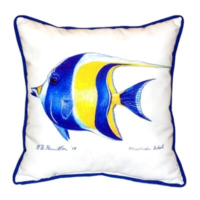 Moorish Idol Indoor/Outdoor Lumbar Pillow Size: Large