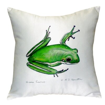 Treefrog Indoor/Outdoor Throw Pillow