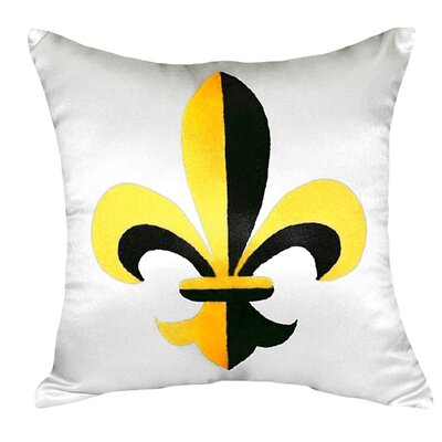Fleur-de-lis Indoor/Outdoor Throw Pillow