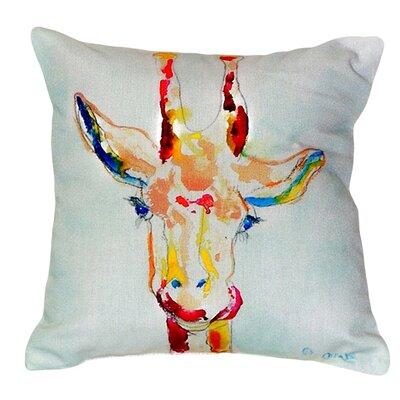 Giraffe Indoor/Outdoor Throw Pillow